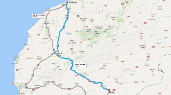 4 Days roundtrip to Zagora desert